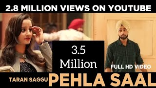 Pehla Saal (College Life) || Taran Saggu || Latest Punjabi Songs 2017 || VS Records