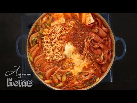 Budae Jjigae Korean Army Base Stew