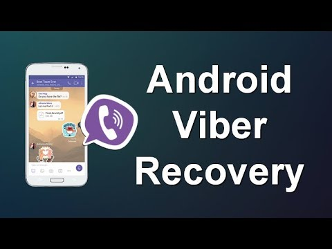 How to Recover Deleted Viber Messages on Android