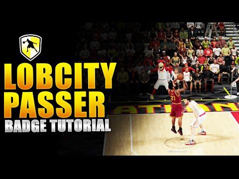NBA 2K16 | THE LOBCITY PASSER BADGE TUTORIAL |