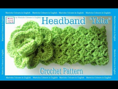 Headband  Band in Crochet
