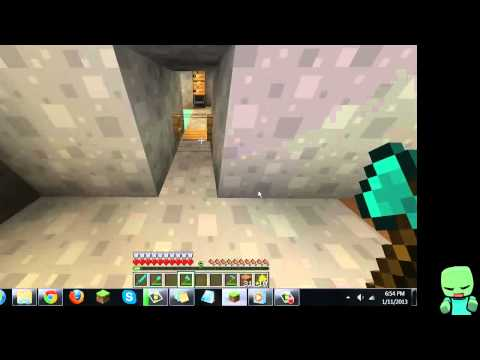 Minecraft - How to make a jack-o-lantern