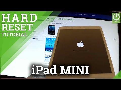 How to Hard Reset APPLE iPad mini - Factory Reset in iPad