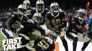 Are the Saints a better 1-loss team than the Rams or Chiefs? l First Take