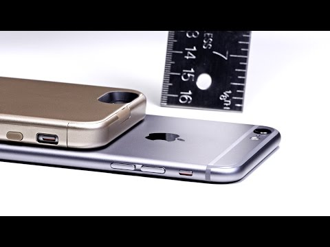 World's Thinnest iPhone Battery Case!