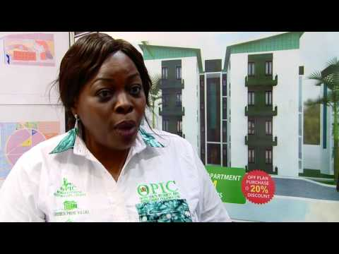 Ibiyemi Adesoye - OPIC. The Property Investor & Homebuyer Show - ExCel, London, UK