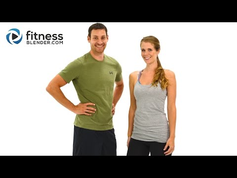 Day 2: Fitness Blender's 5 Day Workout Challenge to Burn Fat & Build Lean Muscle