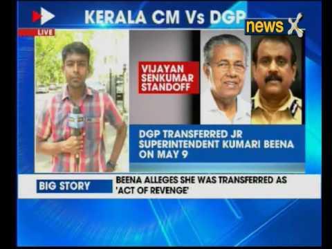 Kerala Govt cancels DGP Senukumar's orders transferring junior staffer