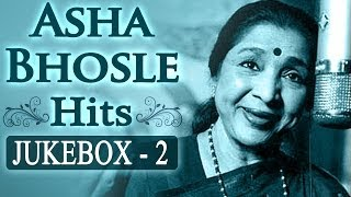 Best of Asha Bhosle Hits (HD) - Juke Box 2- Top 10 old Songs - Evergreen Classic Bollywood Superhits
