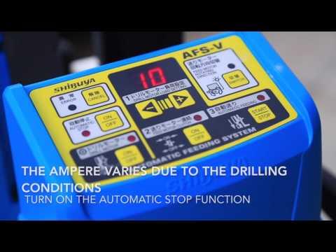 Shibuya Core Drill AFS System