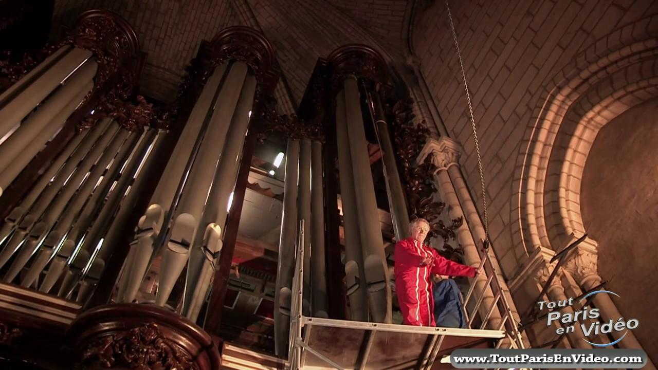 Montage en cours Rénovation orgue Notre-Dame