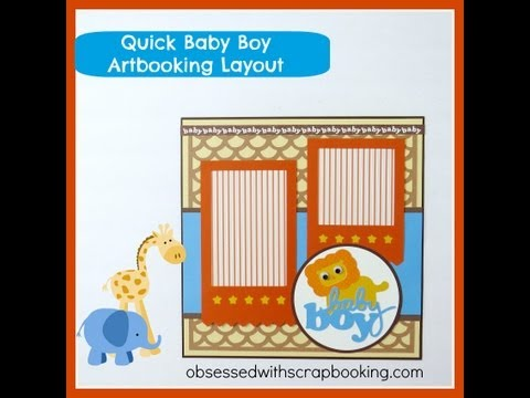 Cricut Layouts Adorable Layout Using Kates Abcs Cartridge Baby