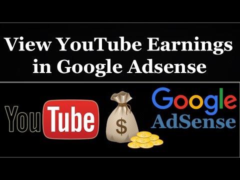 How To View YouTube Earning in Google AdSense Account - Urdu/Hindi