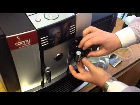 Canny Coffee Daily clean of a Jura Giga X7 coffee machine
