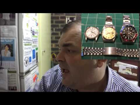 WRIST WATCH MISTAKES - Repainting a vintage GMT dial !!! WHY !!!