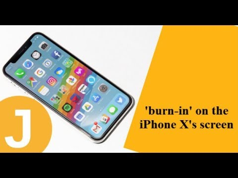 Apple's tips to avoid the 'burn-in' on the iPhone X's screen
