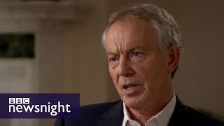 FULL INTERVIEW... Tony Blair on Corbyn and lessons from 2017 election - BBC Newsnight