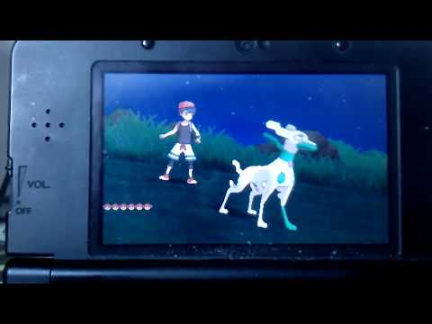 Pokemon Ultra Sun and Moon Shiny Zygarde event