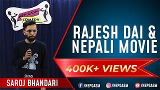 Download Rajesh Dai & Nepali Movie   Nepali Stand-Up Comedy   Saroj Bhandari   Nep-Gasm Comedy Video