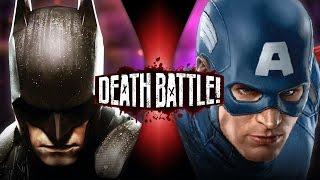 Batman VS Captain America   DEATH BATTLE!   ScrewAttack