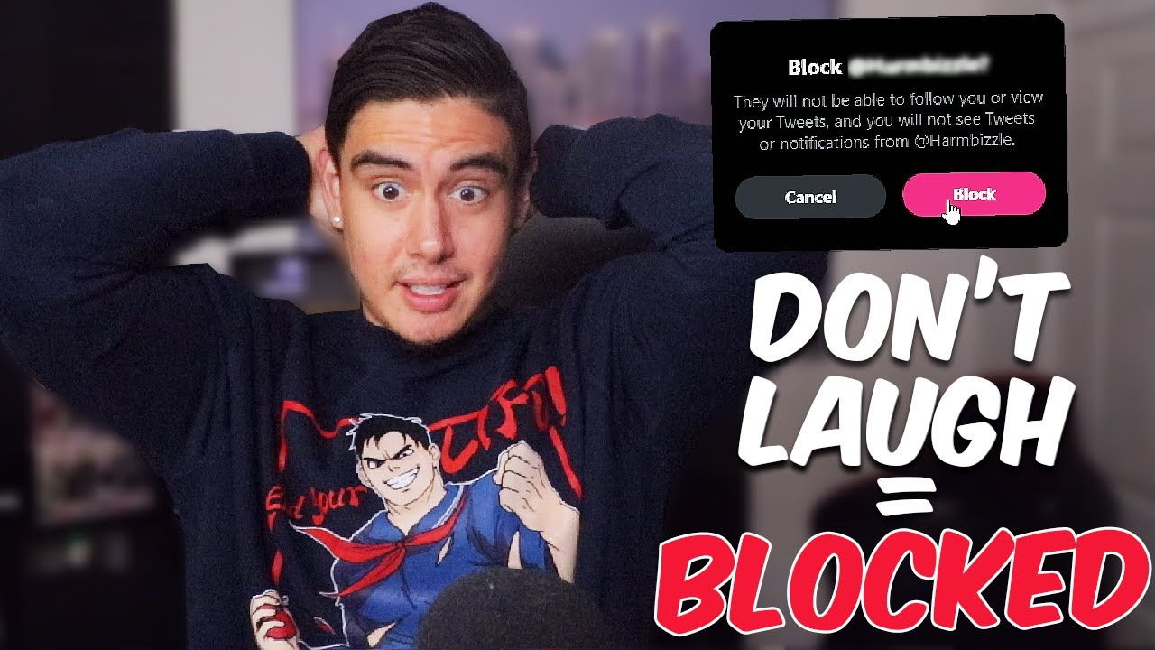 If I Don't Laugh, You Get BLOCKED | Try Not To Laugh (Fan Submissions)