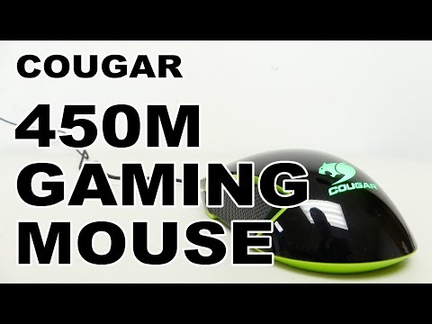 Cougar 450M Optical Gaming Mouse Review