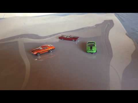 magnetic and servo steering 1/64 scale RC car
