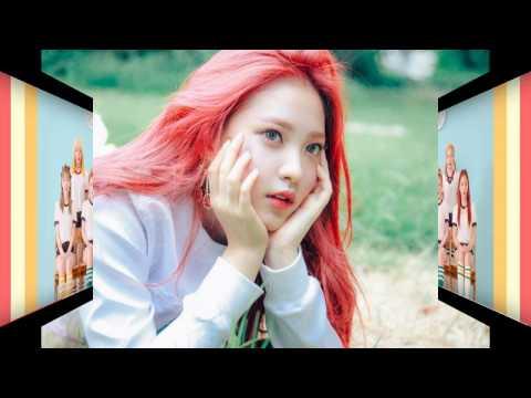 Red Velvet Hair Evolution