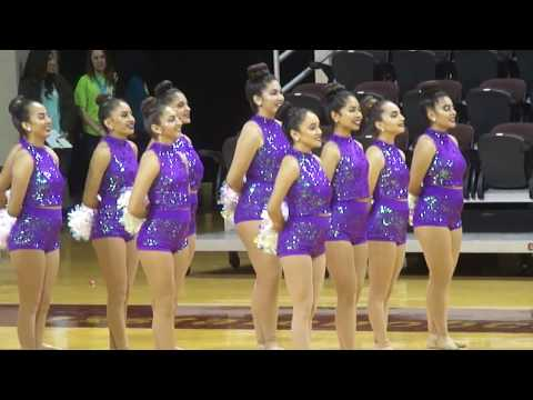 Height's High School Dance Team Pom~~State Competition