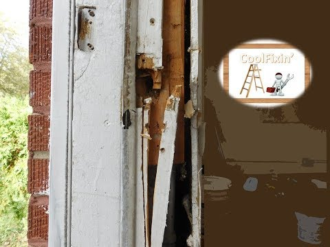 Kicked In Door Jamb Repair