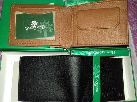 WoodLand Stylish Wallet Unboxing