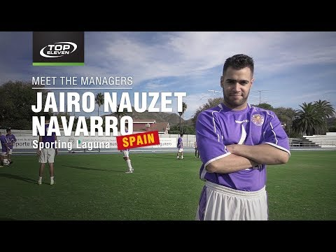 Meet The Managers #11 | Jairo from Spain | Top Eleven