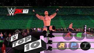 Top 10 Excruciating Extreme Moves - WRESTLING REVOLUTION 3D