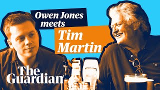 Owen Jones meets Tim Martin |