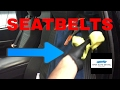 How to clean, disinfect, deodorize the seat belts in your car or truck (stubborn interior materials)