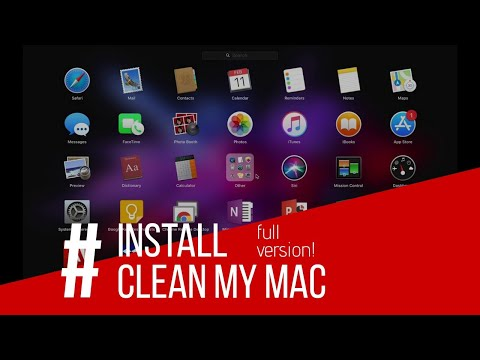 Install CleanMyMac 3 Full Version for OS X High Sierra