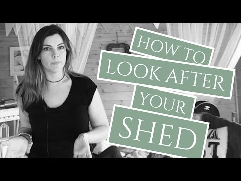 How to Look After Your Shed