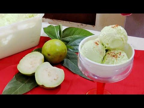 Natural Guava IceCream | Winter Special Guava IceCream | Fresh fruit IceCream |