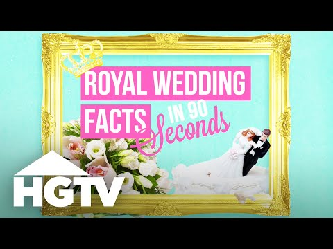 Royal Wedding By the Numbers - HGTV