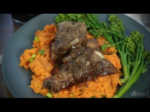 How to Make Simple Beef Short Ribs   Beef Recipes   Allrecipes.com