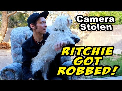 RITCHIE GOT ROBBED! But He Escaped?