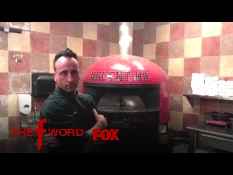 Joe Carlucci Attempts To Spin The Largest Pizza Base In The World   Season 1 Ep. 9   THE F WORD