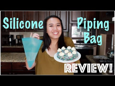 Silicone Piping Bags REVIEW!