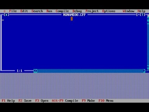 Turbo C++ for Windows 7 and Windows 8 32/64 bit [Full Screen] – How to Download and Install