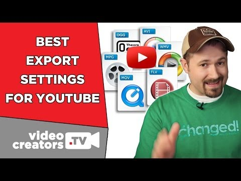 The Best Video Export Settings for YouTube