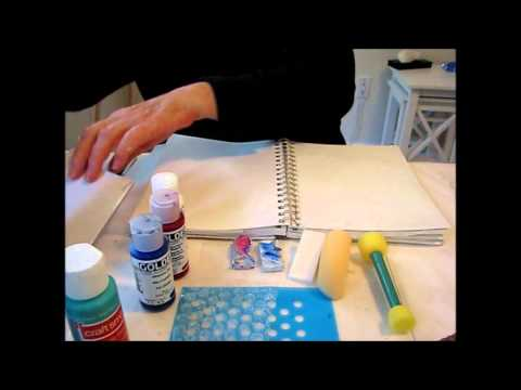Art Journal Tutorial - Design ideas