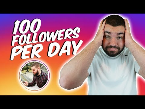 Instagram Growth How To Scale To 100 Followers A Day