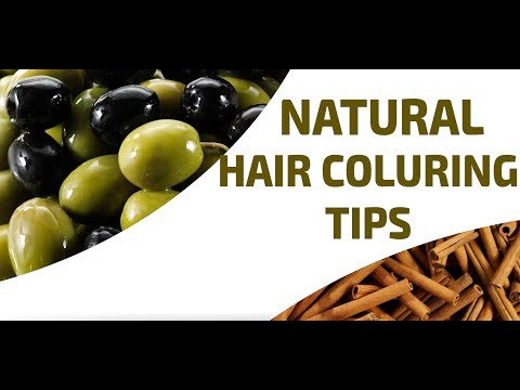 DIY - Natural Hair Color Recipe | Easy Hair Coloring Tips