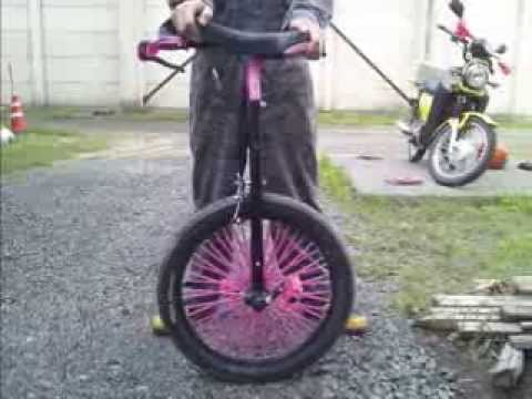 Handmade FreeWheel Unicycle