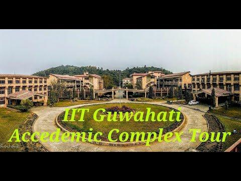 IIT Guwahati Department, Research Lab | Academic area Tour